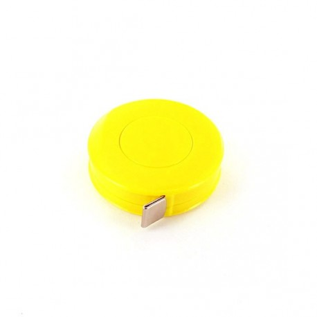 Retractable measure tape - yellow