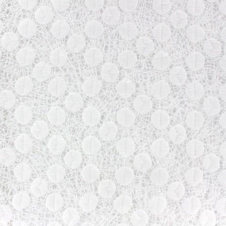 Emese Openwork Lace Fabric - Ecru x 10cm