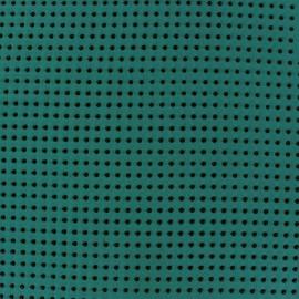 ♥ Coupon 200 cm X 150 cm ♥ Dots Muslin Fabric - Peacock
