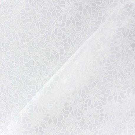Cristal Lace - Fleurs white x 10cm