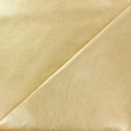 Simili cuir nacré doré x 10cm