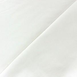 Simili cuir nacré blanc cassé x 10cm