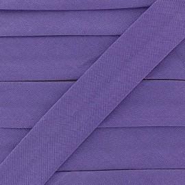 Biais Tout Textile améthiste 20 mm