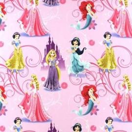 Tissu coton Disney Princesses Glamour x 62cm