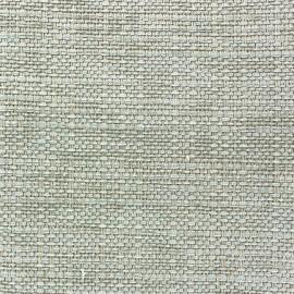 Colombia velvet fabric - Fil chenille Grey Blue x 10cm