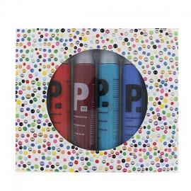 Set de 6 stylos perles 3D Classic