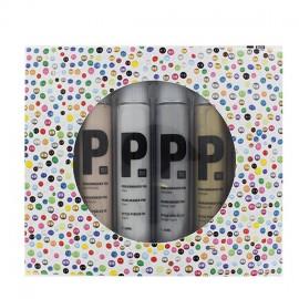 Set de 6 stylos perles 3D Metallic