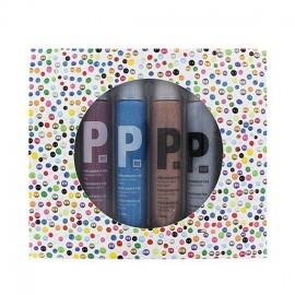 Set de 6 stylos perles 3D Glitter