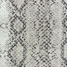♥ Coupon 200 cm X 150 cm ♥  Fabric - Reptil ecru
