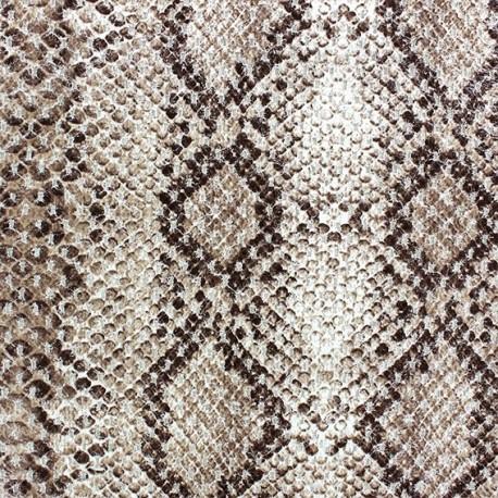 Fabric - Reptil brown x 10cm