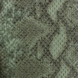 Tissu Reptile vert x 10cm