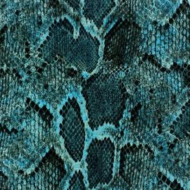 Fabric - Reptil blue x 10cm