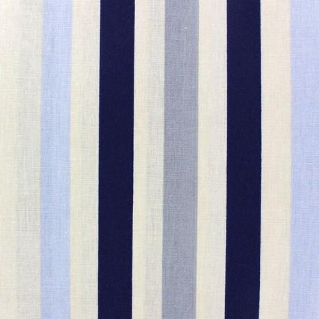 Coated Cotton Fabric - Benodet Navy x 10cm