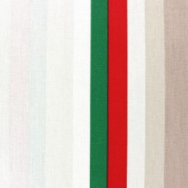 Tissu coton enduit Sebastian Beige x 10cm