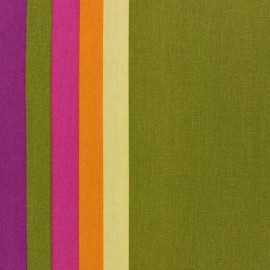 Coated Cotton Fabric - Sebastian Green x 10cm