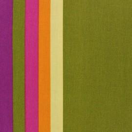 Tissu coton enduit Sebastian Vert x 10cm