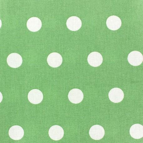 Tissu coton enduit Pastille Amandier x 10cm