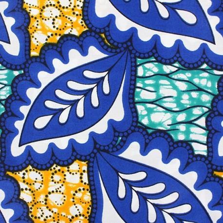 Wax print fabric Ndola x 10cm