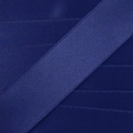 Satin Ribbon, double-sided - navy blue
