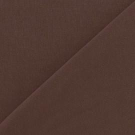 Tissu sweat gris x 10cm