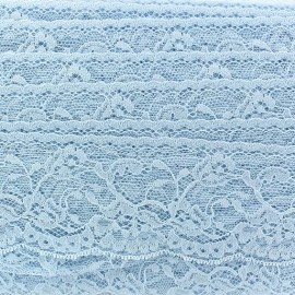 Lace ribbon Tulip - sky blue