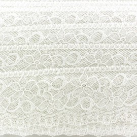 Lace ribbon Lucy - ecru