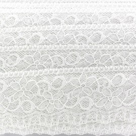 Lace ribbon Lucy - white