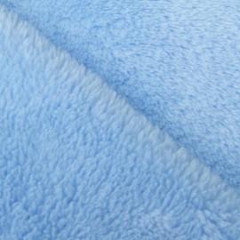 Baby's Security Blanket fabric - sky x 10cm