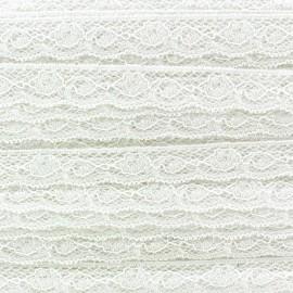 Lace ribbon Olivia - ecru