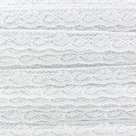 Lace ribbon Olivia - white