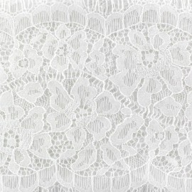 Lace ribbon Angélina x 50cm - white
