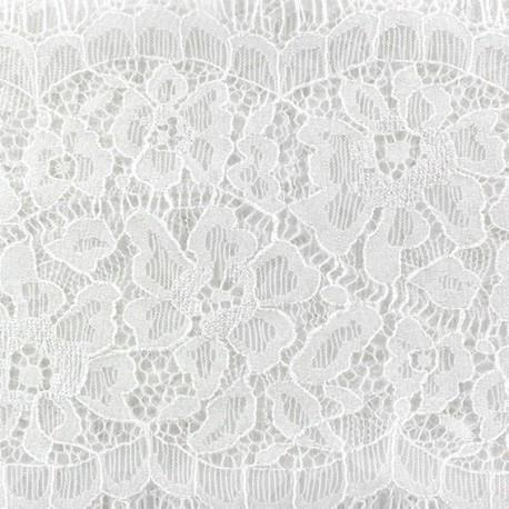 Lace ribbon Angélina x 50cm - white
