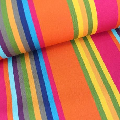 Deckchair Canvas Fabric - Playa Sao Paulo fuchsia (43cm) x 10cm