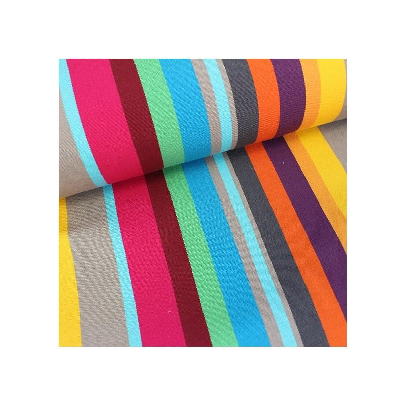 tissu toile transat playa caracas fuchsia 43cm x 10cm ma petite mercerie. Black Bedroom Furniture Sets. Home Design Ideas