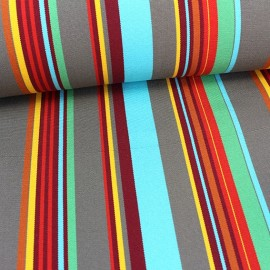 Deckchair Canvas Fabric - Playa Portofino turquoise (43cm) x 10cm
