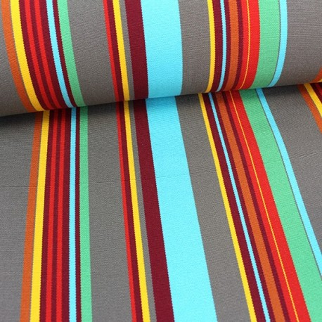 tissu toile transat playa portofino turquoise 43cm x 10cm ma petite mercerie. Black Bedroom Furniture Sets. Home Design Ideas