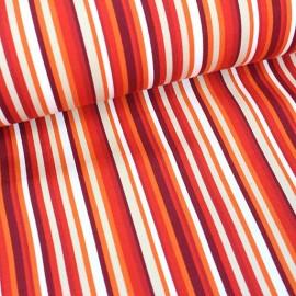 Deckchair Canvas Fabric - Playa Multi red (43cm) x 10cm