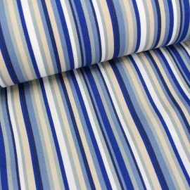 Deckchair Canvas Fabric - Playa Multi blue (43cm) x 10cm