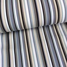 Deckchair Canvas Fabric - Playa Multi grey (43cm) x 10cm