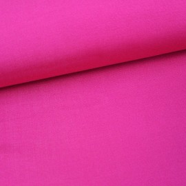 Tissu toile transat Playa uni Fuchsia (43cm) x 10cm
