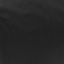 Pearl stitched cotton fabric - black x 10cm