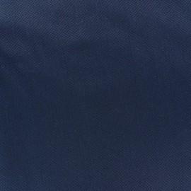 Tissu piqué de coton Perle marine x 10cm