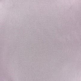 Tissu piqué de coton Perle lilas x 10cm
