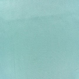 Tissu piqué de coton Perle opaline x 10cm