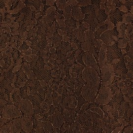 Lace of Calais® Fabric - Chocolate x 10cm