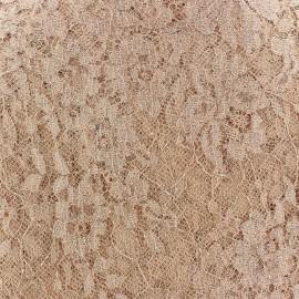 Lace of Calais® Fabric - Apricot x 10cm