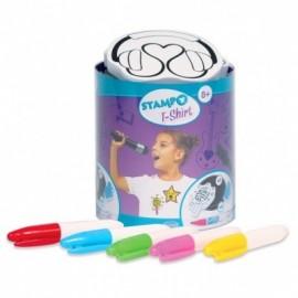 Tampon Stampo T-shirt - Music