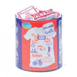 Tampon Stampo Textile - Paris