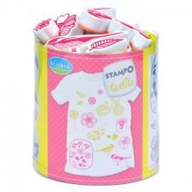 Tampon Stampo Textile - Fleurs