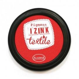 Encreur Izink textile rouge santal